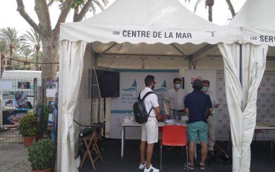 Prop de 300 persones visiten els estands del SOIB i el Centre de la Mar a la fira nàutica Palma International Boat Show